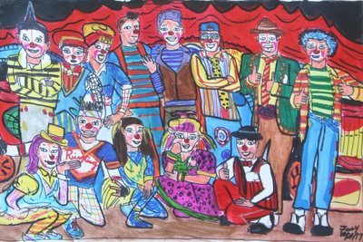 Ringling Bros. Dragons Clown Alley