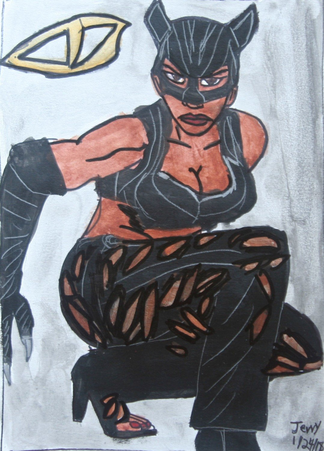 Halle Berry as Catwoman