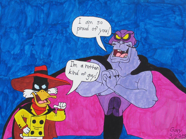 Negaduck Meets the Evil Manta