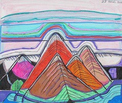 Multi-Color Mountains
