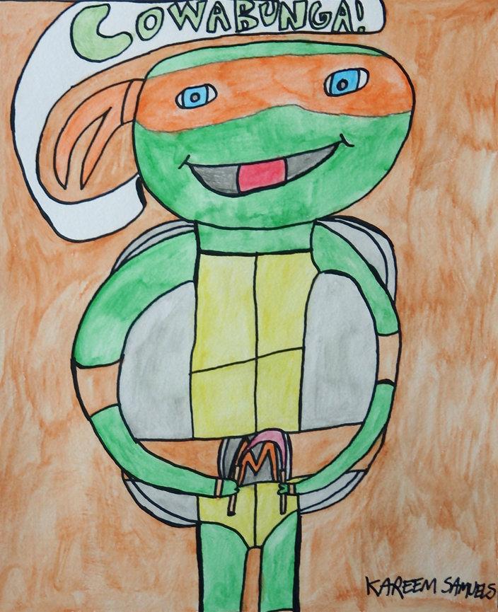 T.M.N.T. Michelangelo
