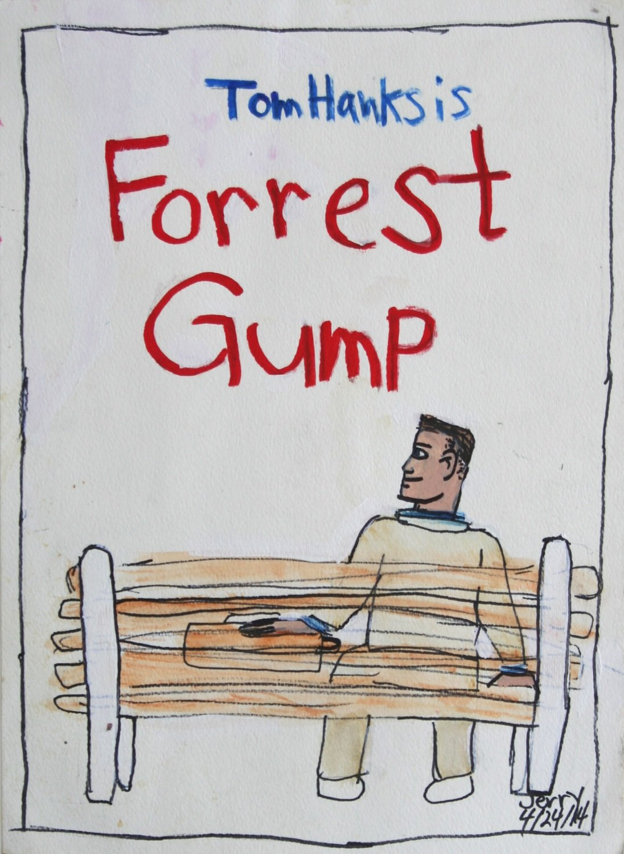 Tom Hanks is Forrest Gump