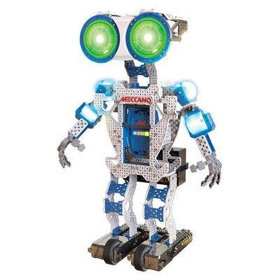 Meccano Robot Building