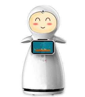 Mini Guesting Robot
