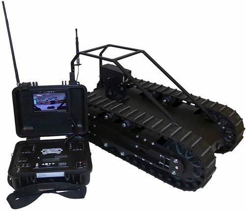 Heavy Duty Surveillance Robot