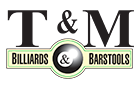 T&M Billiards, Barstools and Patio