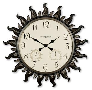 Sunburst II Clock