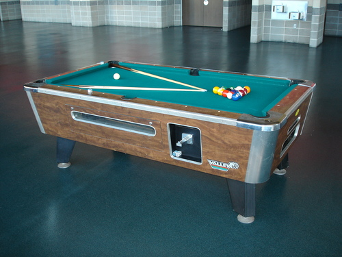 Used reconditioned Valley pool table