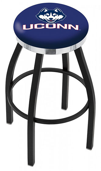 UCONN Logo Bar Stool