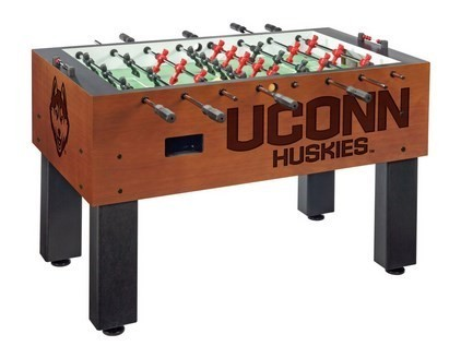 UCONN Logo Foosball Table