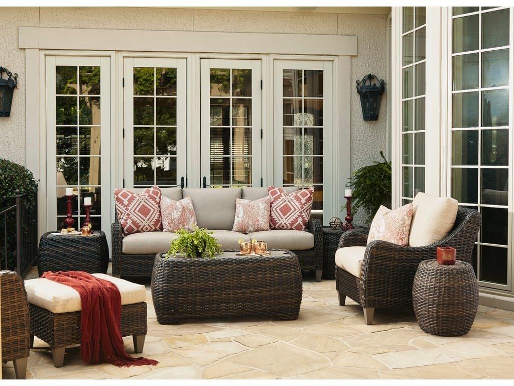 Klaussner Outdoor Mesa Sofa