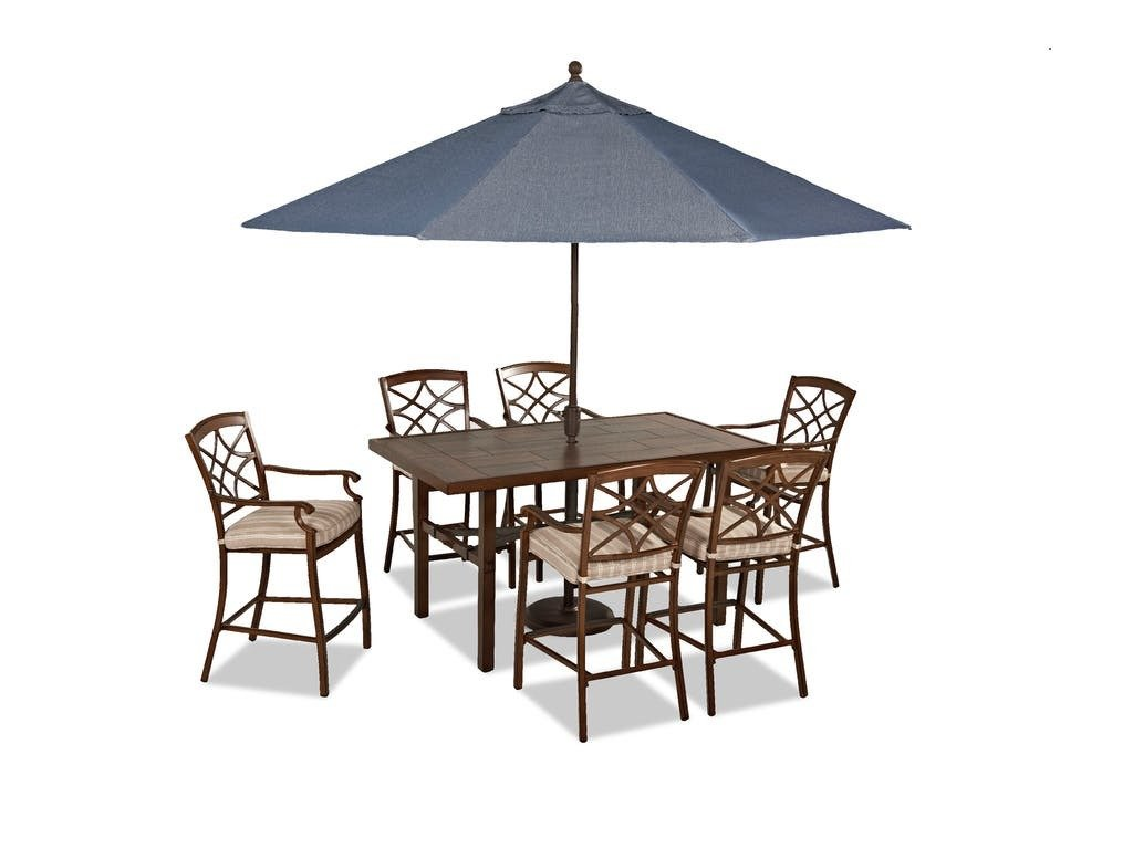 Klaussner Outdoor Trisha Yearwood 7 piece dining set
