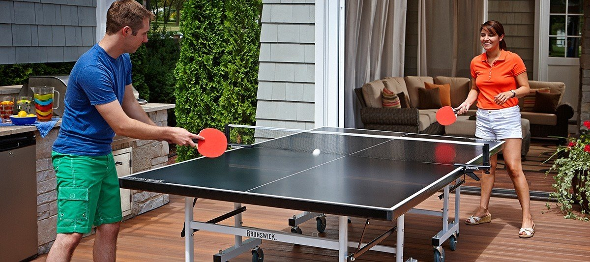 Smash Indoor / Outdoor Ping Pong Table