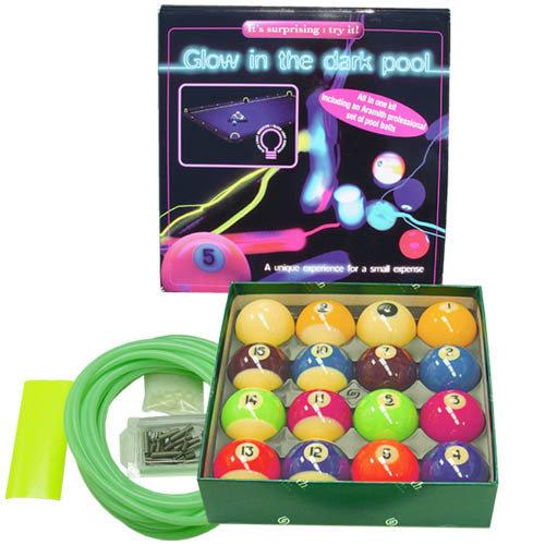 Glow In The Dark Pool Balls