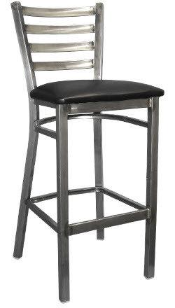 Metal Ladderback Clear Coat steel
