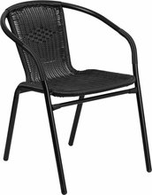 Rattan Indoor/Outdoor commercial dining chair