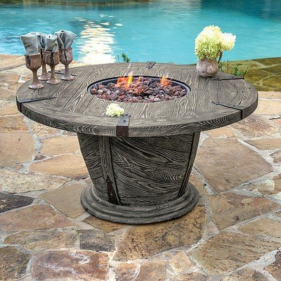Old World Gas Fire Pit