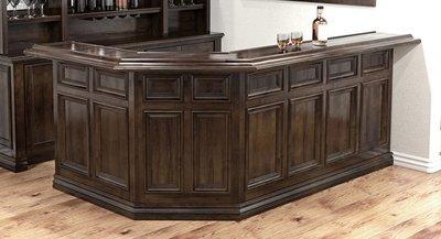 Rutherford Double Angle custom bar by Calhouse