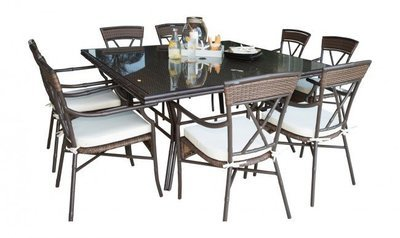 Rum Cay 9 piece dining set