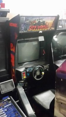 Used Off Road Challenge arcade game