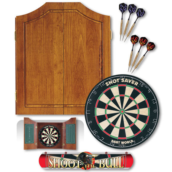 Early American Dart Cabinet Kit