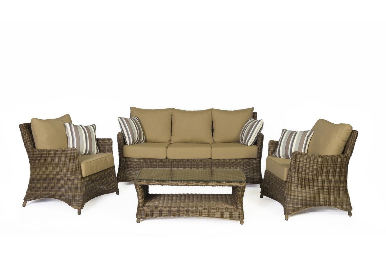 Mendoza Four Piece Sofa Set