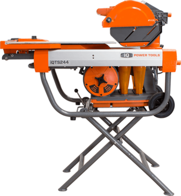 iQTS244 Dry Cut Tile Saw with Blade & Stand