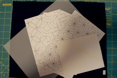 Sashiko Pattern Transfer Practice Kit