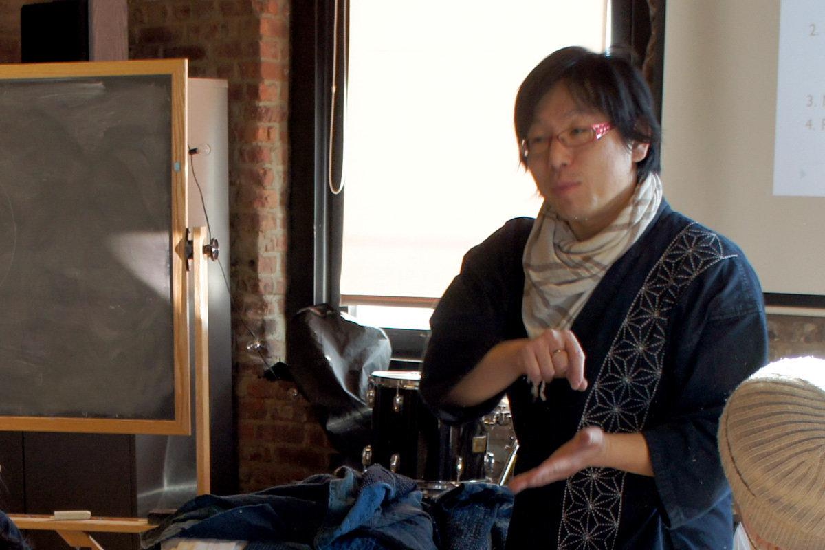 Sashiko Stitching Workshop | Basic & Core