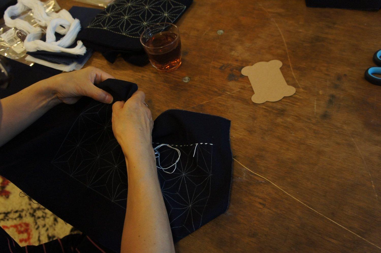 Online Sashiko Workshop | Core & Basic