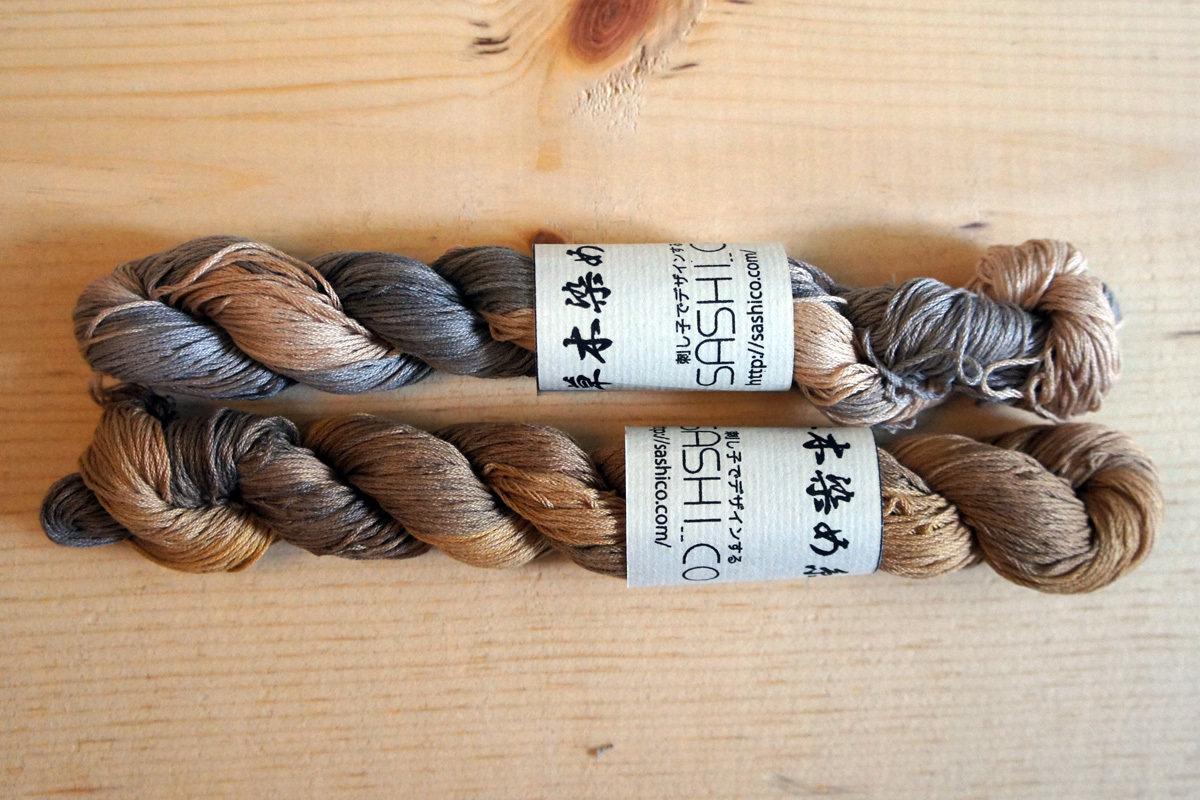 Persimmon Dye Sashiko Thread | 2018 Collection