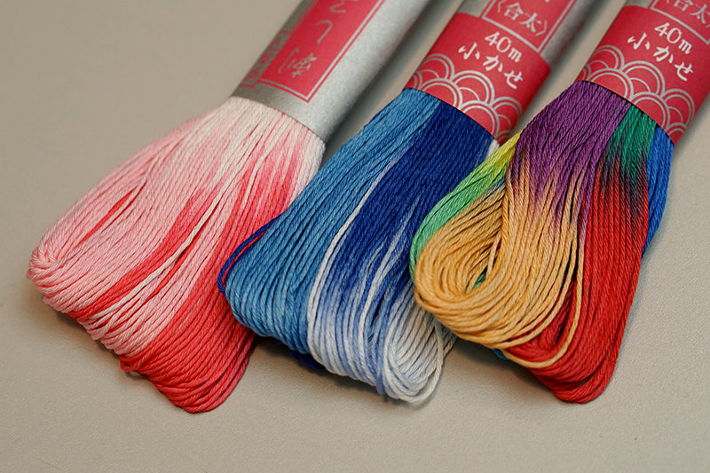 Daruma Sashiko Thread | Gradient Color by Yokota