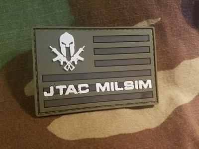 JTAC MILSIM PATCH GREEN