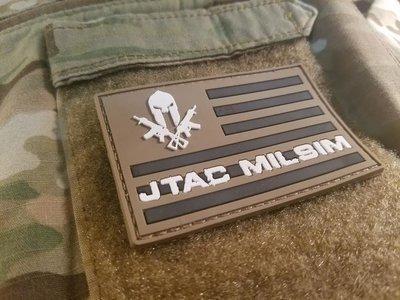 JTAC MILSIM PATCH TAN