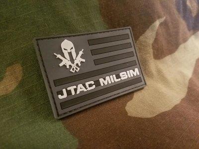 JTAC MILSIM URBAN BLACK PATCH