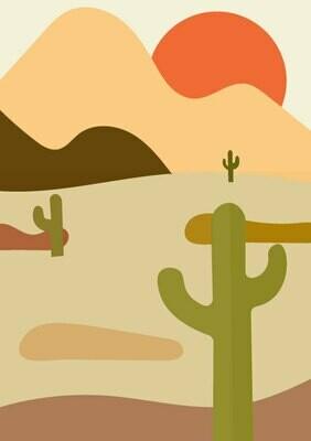Samaritans Purse   Sunset Cactus