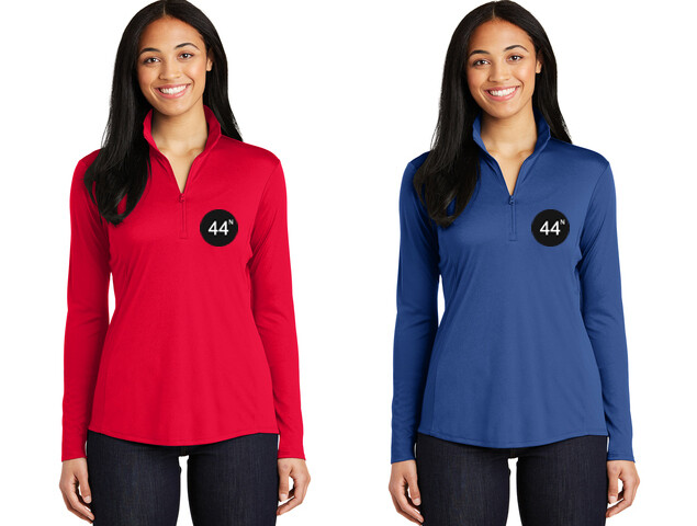 44N Sport-Tek® Ladies PosiCharge®Competitor™ 1/4-Zip Pullover  -LST357