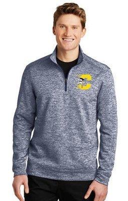 Sport-Tek® PosiCharge® Electric Heather Fleece 1/4-Zip Pullover. ST226.