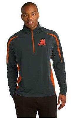 Sport-Tek® Sport-Wick® Stretch 1/2-Zip Colorblock Pullover. ST851