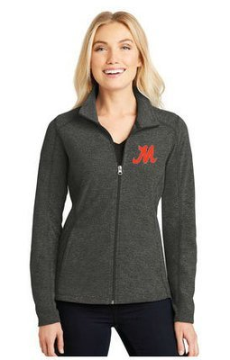 Port Authority® Heather Microfleece Full-Zip Jacket. L235.