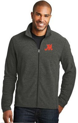 Port Authority® Heather Microfleece Full-Zip Jacket. F235.