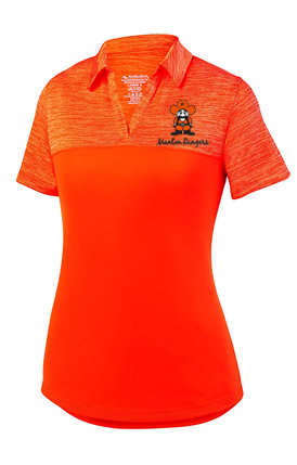 Ladies -  Augusta Ladies Shadow Tonal Heather Polo Style # 5413