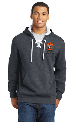 Mens Sport-Tek® Lace Up Pullover Hooded Sweatshirt ST271