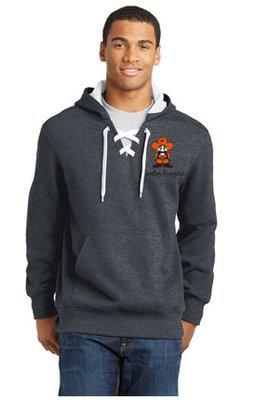 Mens Sport-Tek® Lace Up Pullover Hooded Sweatshirt ST271