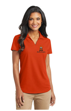 Ladies-  L572 Port Authority® Ladies Dry Zone® Grid Polo (3 Color Choices)