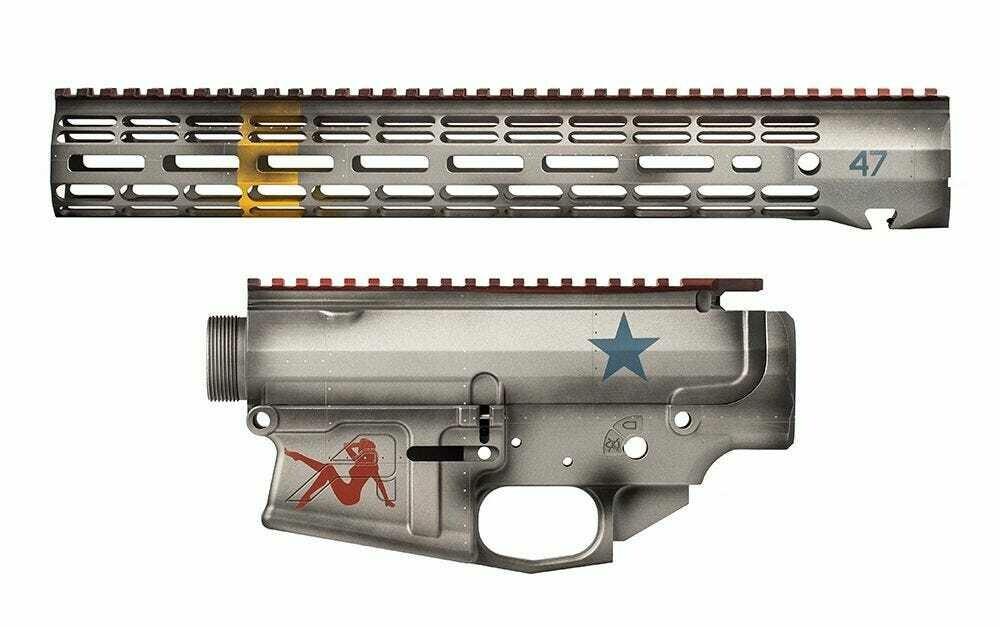 """Aero Precision M4E1 Builder Set w/ 15"""" ATLAS S-ONE M-LOK Handguard -  P47 inspired Thunderbolt Builder Set"""