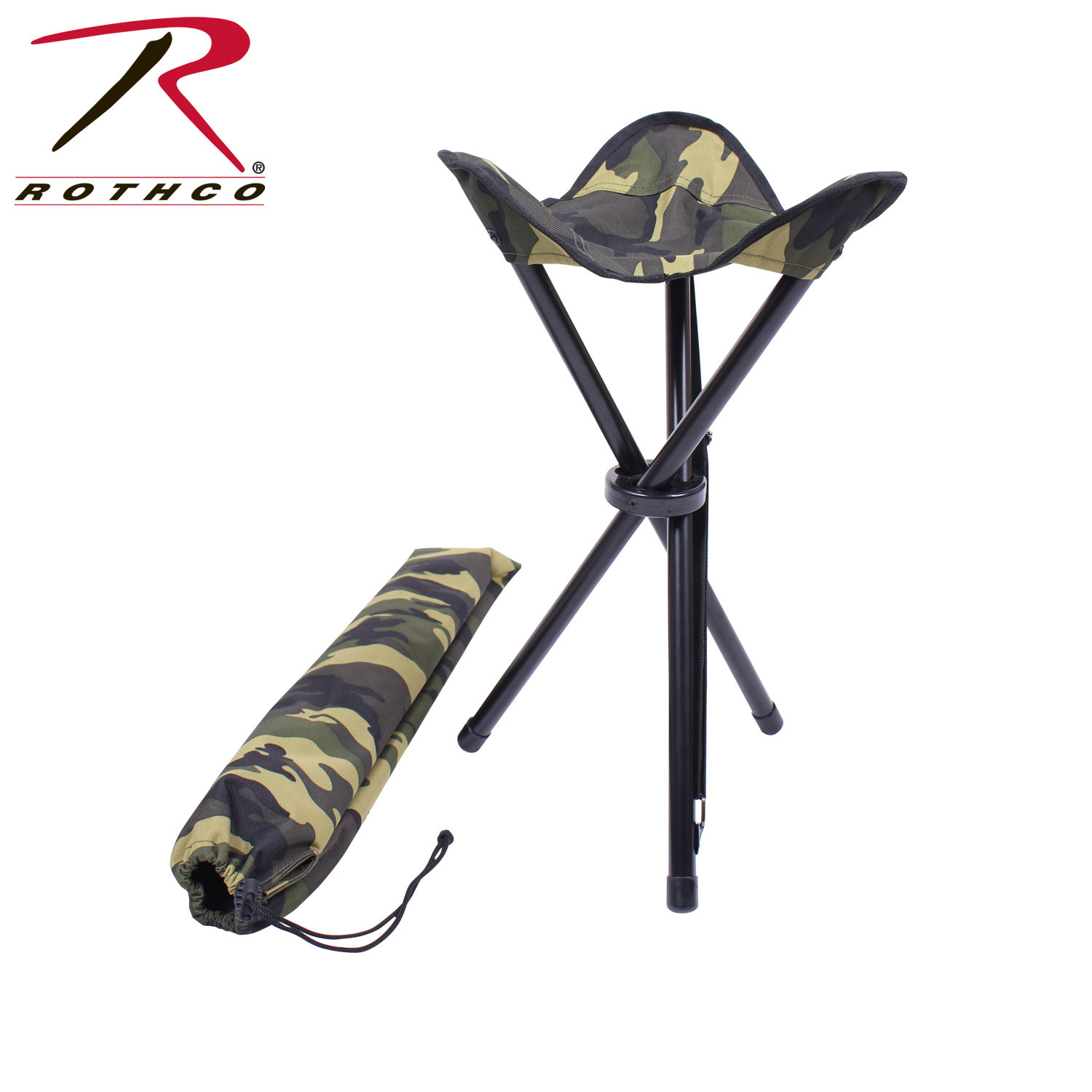 Collapsible Stool with Carry Handle
