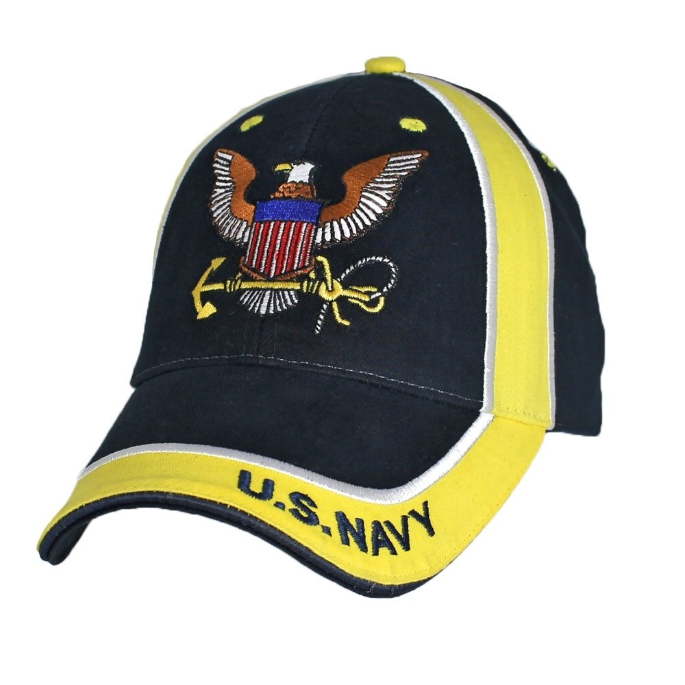 CAP-U.S.NAVY W/LOGO TWO TONE