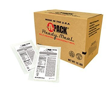 """A"" Pack Ready Meal (Case of 12 Meals)"
