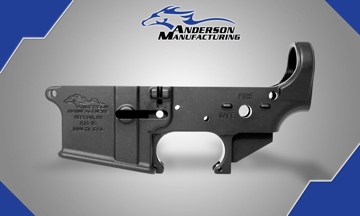 Anderson AM-15 Stripped Lower